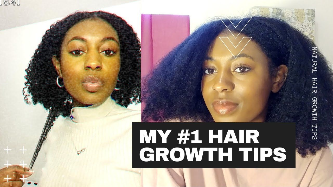 My #1 Tips For Natural Hair Growth!!