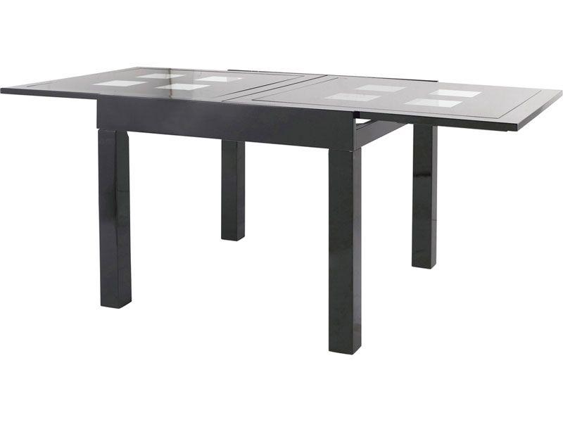 table comete de 90 à 180cm existe en blanc     wwwnforamafr - Conforama Meuble De Cuisine