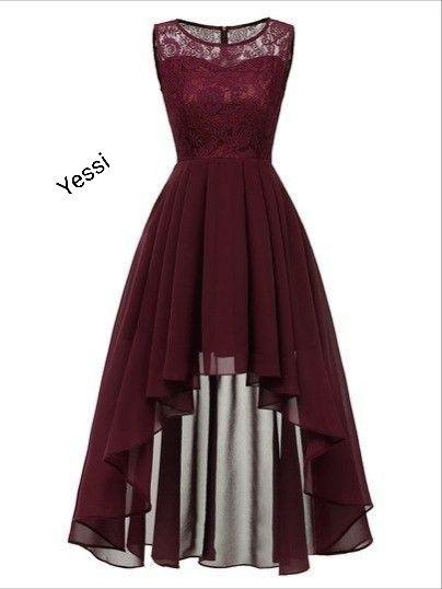 Vestido Trendy Lace Dresses Lace Dress Long Lace Hem Dress