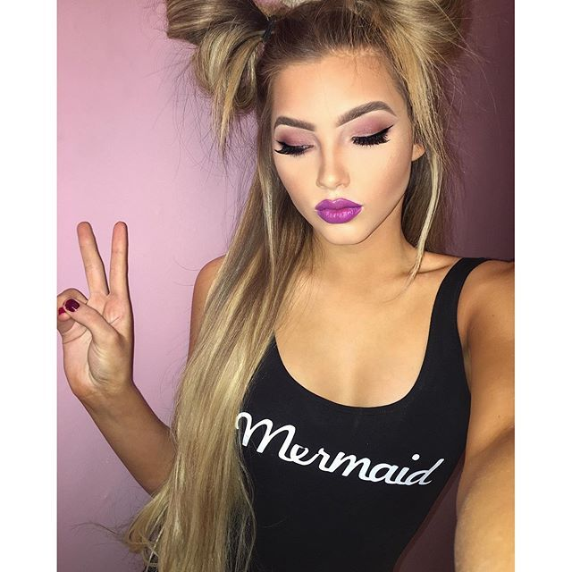 Now Kiss And Makeup: Instagram Media Sophia_mitch