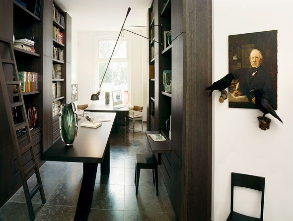 :: INTERIORS :: TOWNHOUSE AMSTERDAM BY KATE HUME Set In A