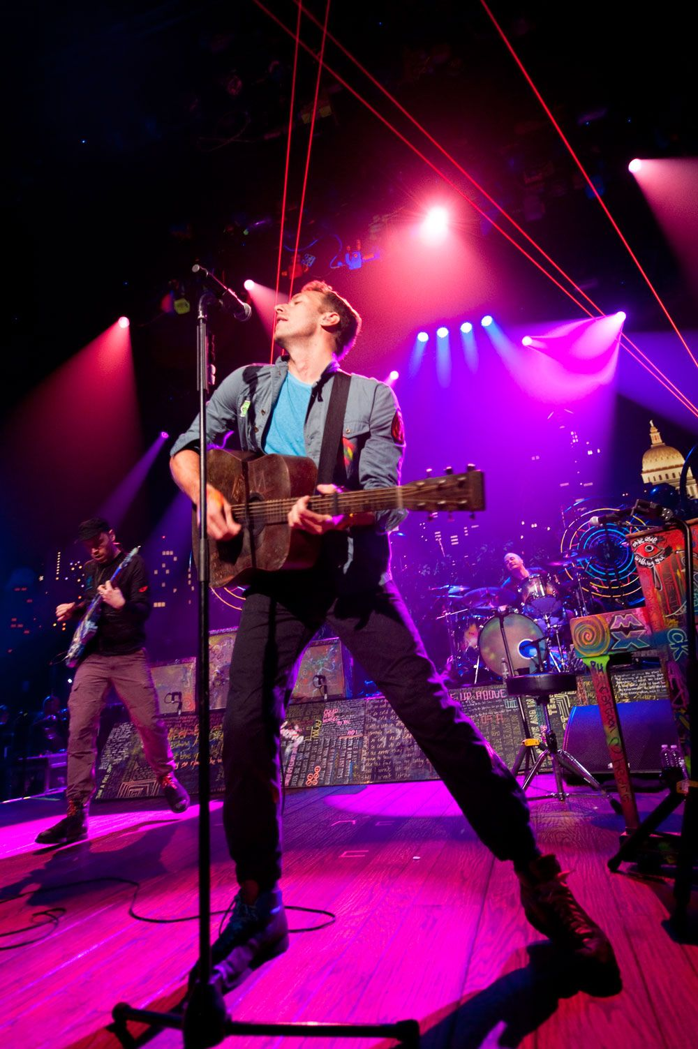 Coldplay on Austin City Limits Music tv, Music is life