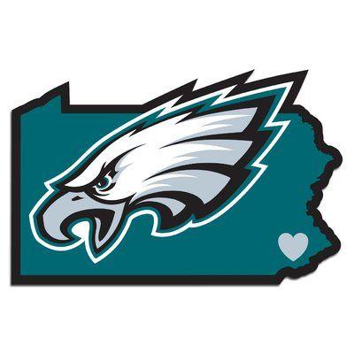 Team ProMark NFL Home State Decal Philadelphia eagles
