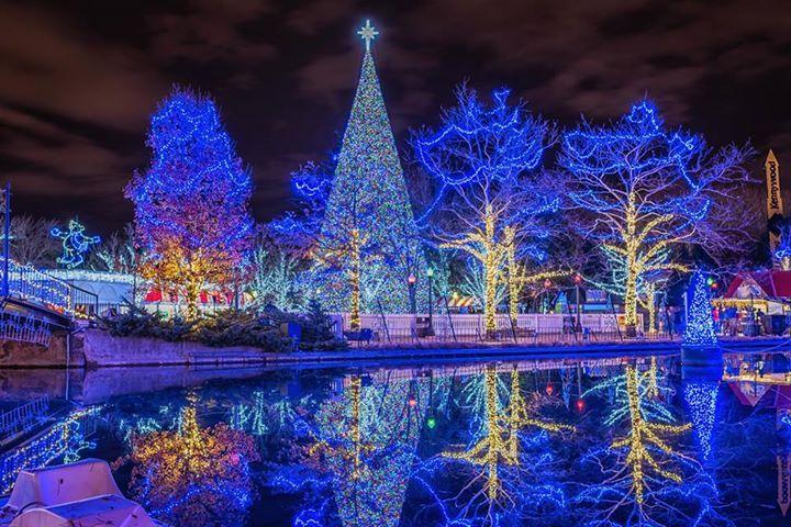 Kennywood Christmas.Kennywood Park At Christmas Photo By Stephen Docherty