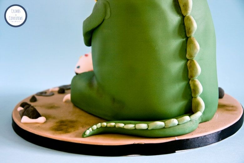 TRex Cake Tutorial Cake tutorial Tutorials and Cake