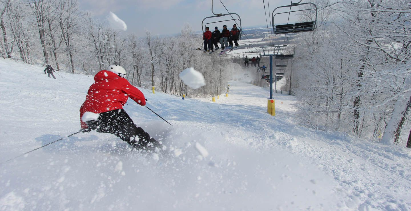 plan a winter in pa vacation to liberty mountain resort in carrol