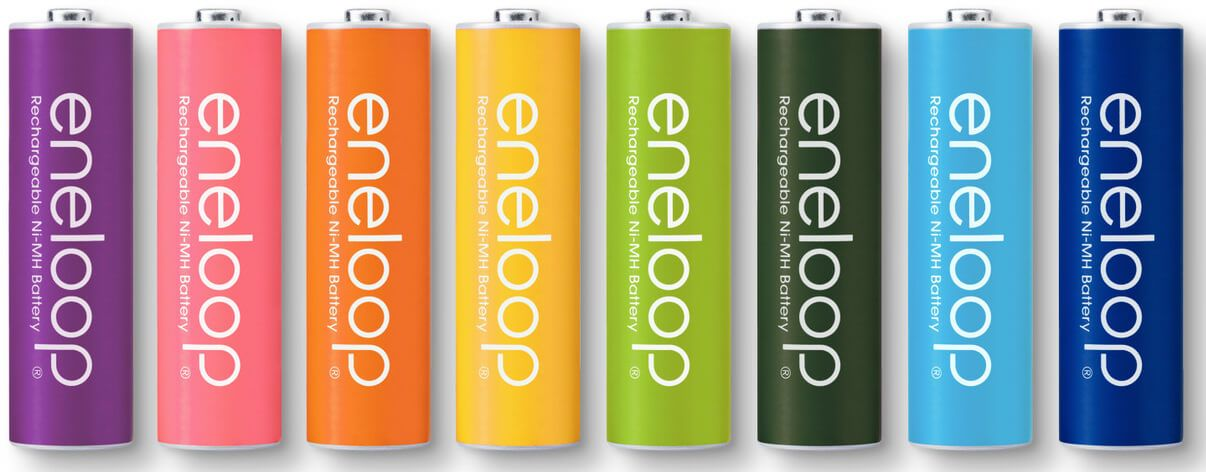 In A Nutshell Here Are My Recommendations For The Best Rechargeable Aa Batteries If You Want The Best Energy Rechargeable Batteries Nimh Battery Battery Logo