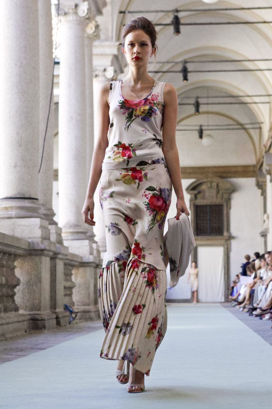 Luisa Beccaria - love the pattern.