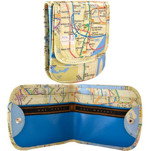 NYC Subway Map TAXI WALLET® need this for travel to