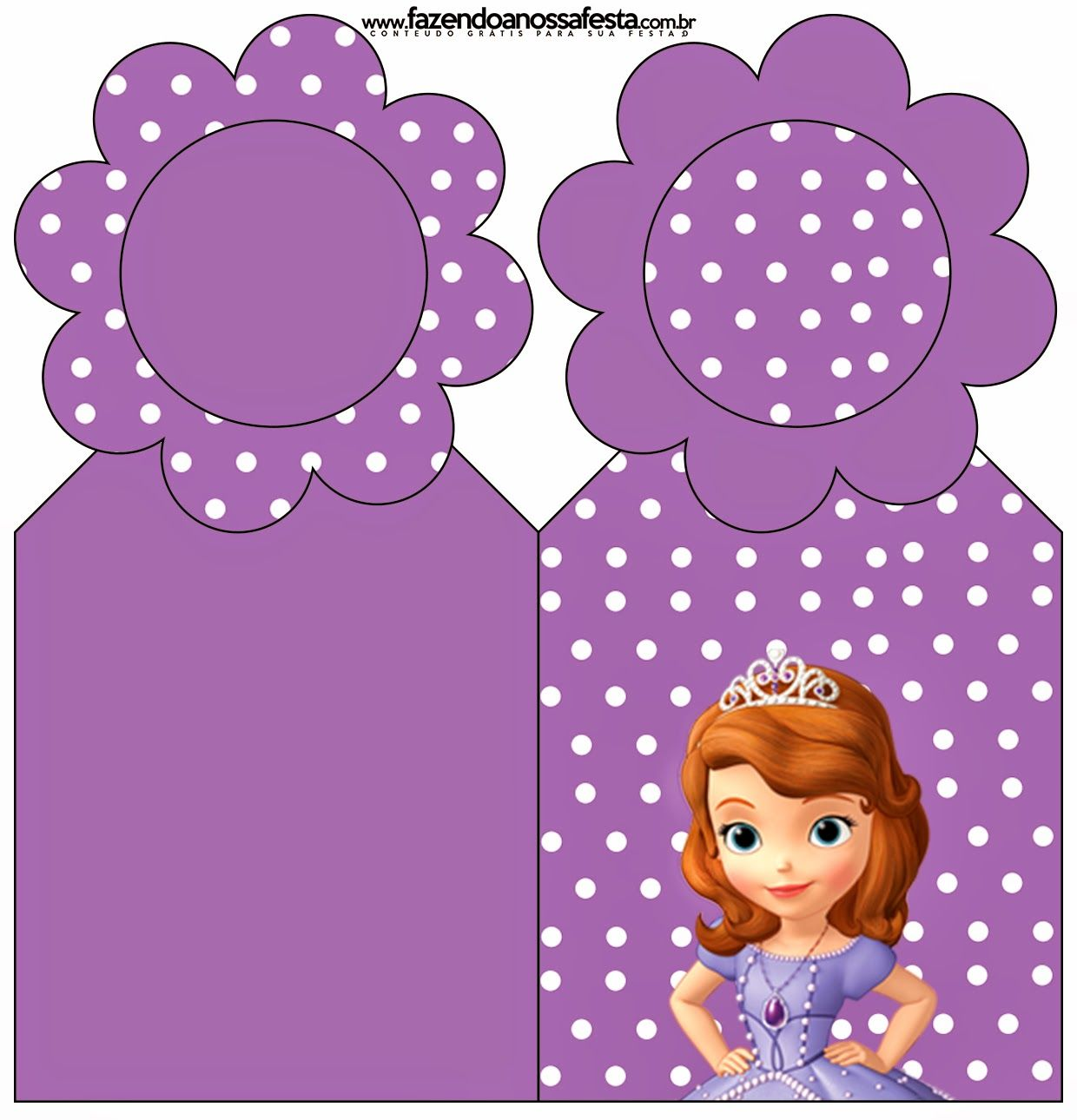Sofia the First: Free Party Printables and Images. | Fiesta princesa ...