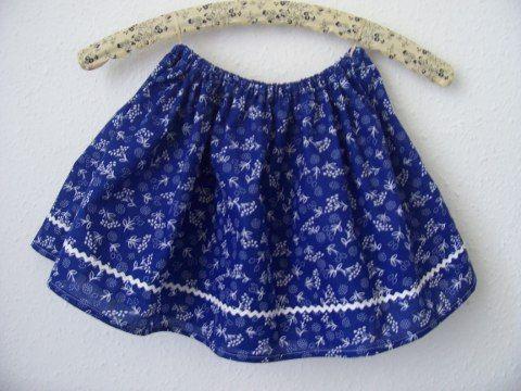 520b63a867 Mini kékfestő- kislány szoknya, Ruha, divat, cipő, Női ruha, Gyerekruha