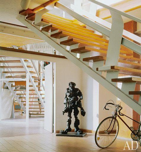 dam images homes 2011 09 willem de kooning hamptons home studio willem de kooning sculpture