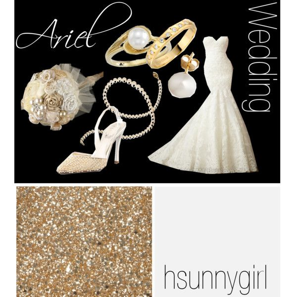 """""""Ariel Themed Wedding"""" by hsunnygirl on Polyvore"""