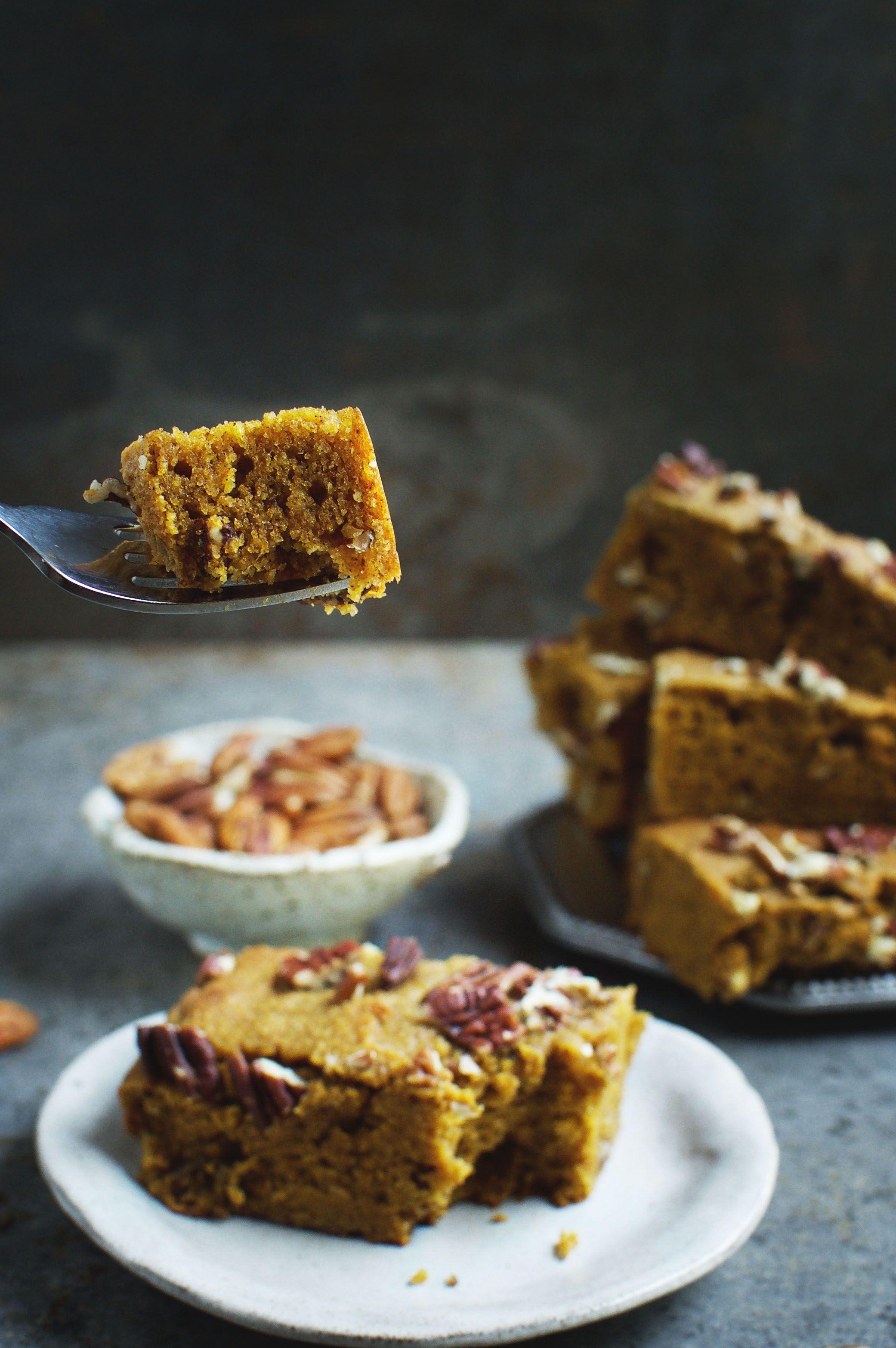 Low Carb Pumpkin Pecan Bars Recipe Pecan Recipes Pumpkin