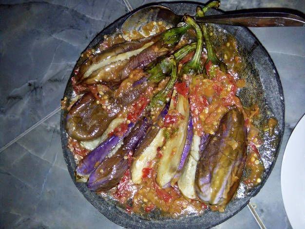 Resep Pecak Terong Ungu Oleh Feny Novianticca Resep Resep Masakan Indonesia Resep Makanan