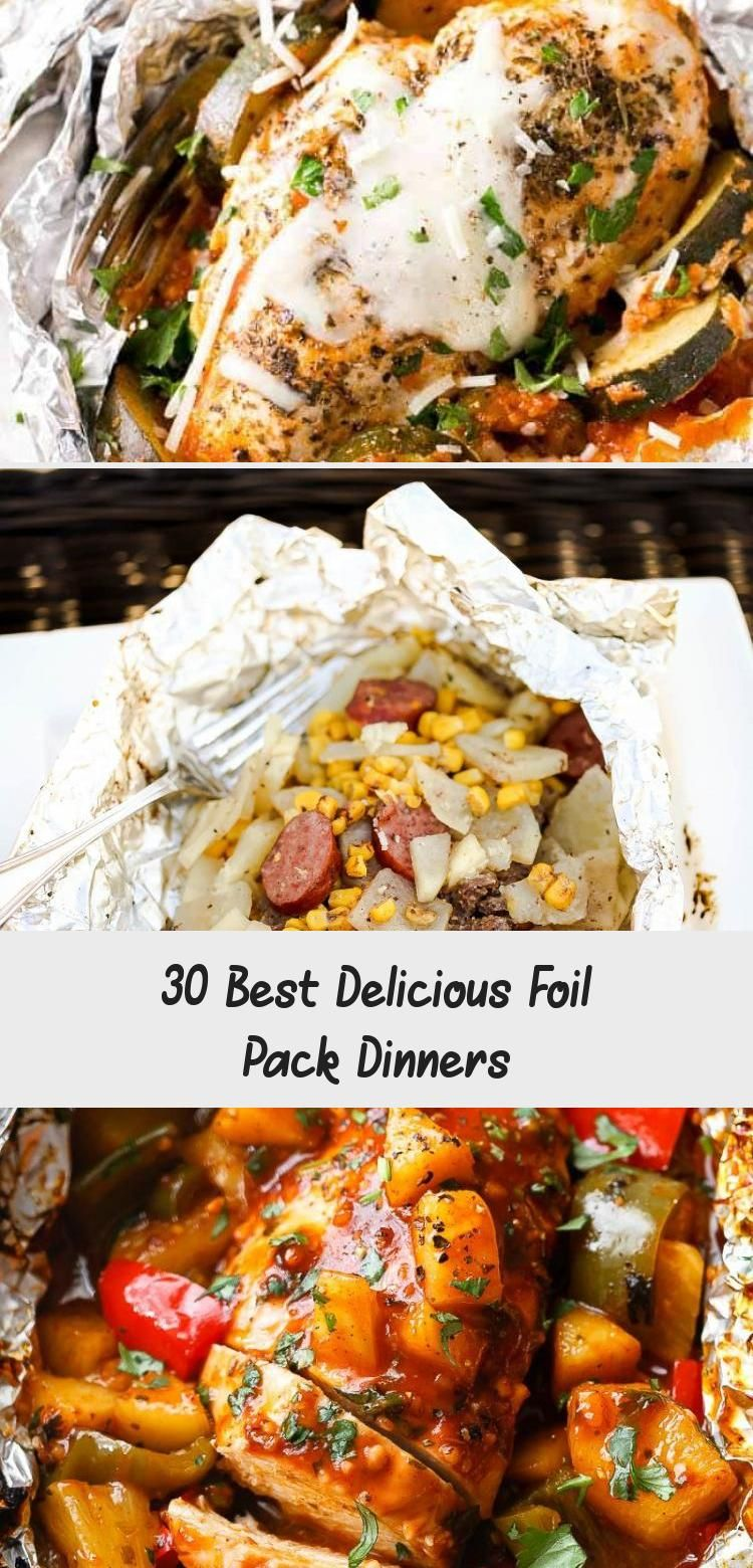 Photo of 30 Best Delicious Foil Pack Dinners