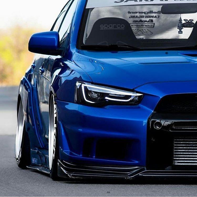 Mitsubishi Evo X Blue: Pin On Evo