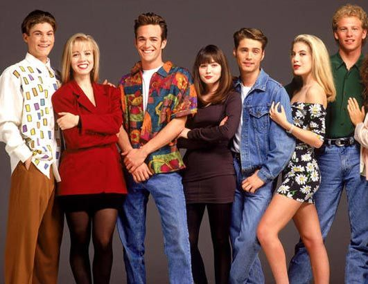 At the time, the cast of Beverly Hills 90210 filled the stereotypical teen  from Beverly