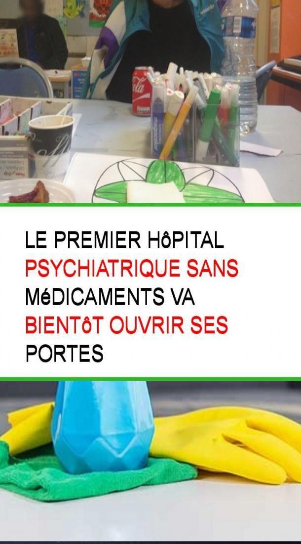 Le premier hôpital psychiatrique sans médicaments va