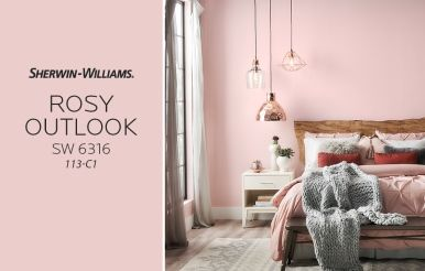 Sherwin Williams Rosy Outlook SW 6316