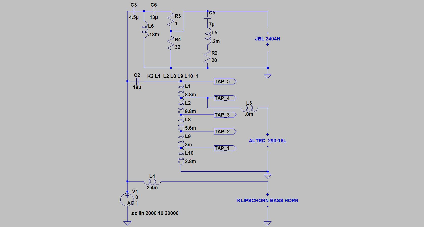 alk engineering crossover schematics szukaj w google diy horn alk engineering crossover schematics szukaj w google