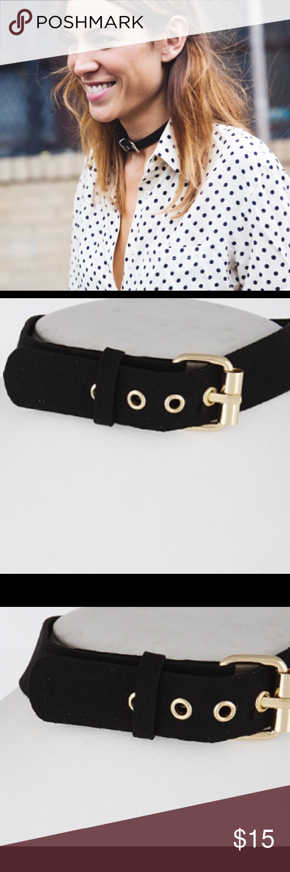 NWT || Black Velvet Thick Buckle Choker Necklace Black Velvet Thick Buckle Choker Necklace. As seen on Alexa Chung. First image is for inspiration only and not actual necklace. Price is firm unless bundled. Bundle 4 or more and save 20%. ASOS Jewelry Necklaces