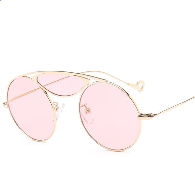 f60e61a6f2 Vintage Sunglasses Trends - HBK Vintage Sunglasses Women Red Pink Yellow  Candy Color Sunglass Woman Retro Eyewear UV400 Goggles 2018 feminino  Sunglasses are ...