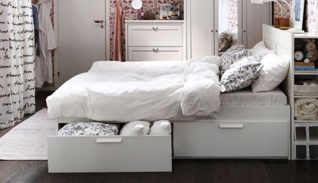Cabeceros de cama con espacio de almacenaje   Casas   Pinterest ...