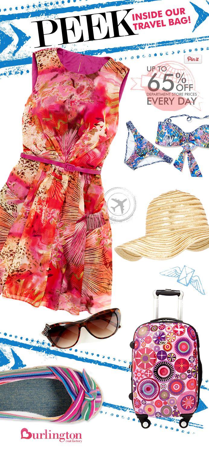 Summer Vacation Travel Essentials I love Burlington Coat
