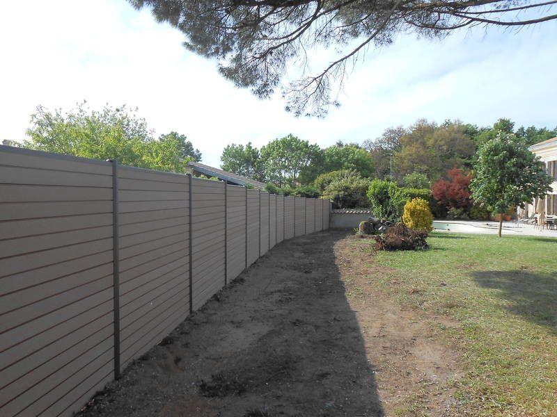 Fourniture et pose de clôture en bois composite Océwood® - par clodeco