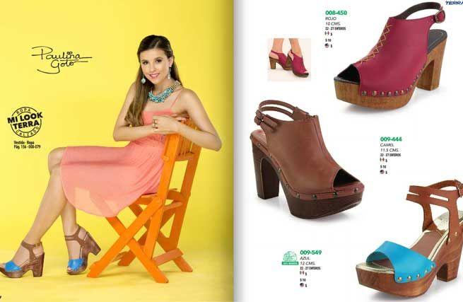 Zapatos mundo terra dama catalogos digitales online for Catalogos terra