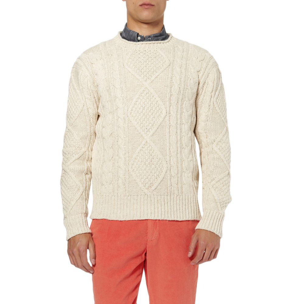 Polo Ralph Lauren Cable Knit Aran Sweater | For jeb | Pinterest ...