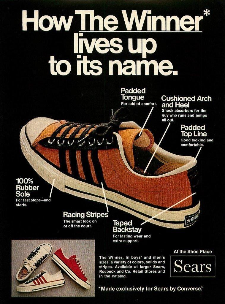 Vintage sneakers, Converse