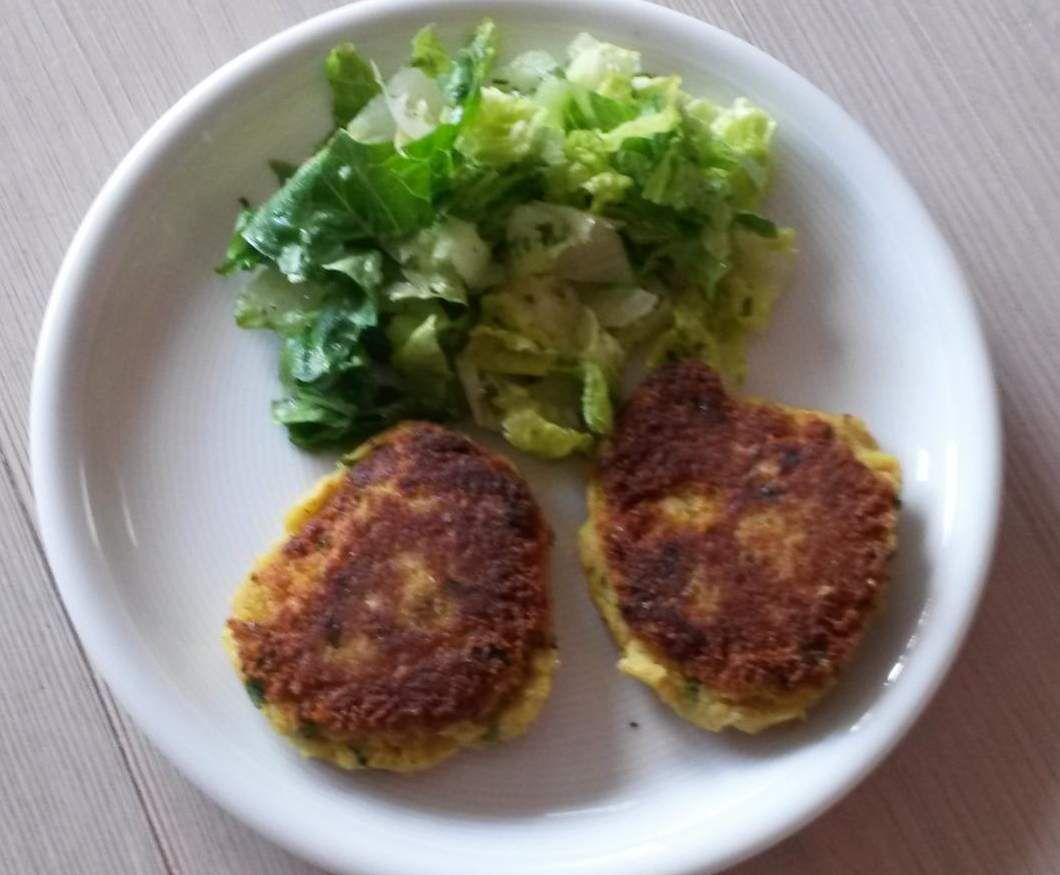 Rezept Kichererbsen-Buletten Falafel ~ glutenfrei - vegan von flipper1967 - Rezept der Kategorie Hauptgerichte mit Gemüse