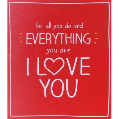 For All You Do Valentine Card