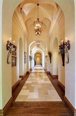 exciting dc ranch residence hallway interior design idea scottsdale az | Arizona's Premiere Custom Home Builder | Scottsdale ...