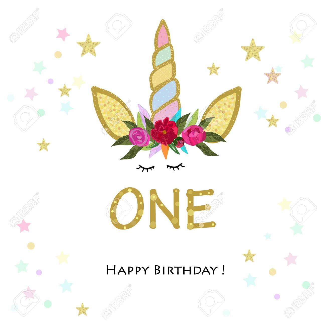 First Birtday Forward Unicorn Birthday Invitation Party Invitation Birthday Invitati Unicorn Birthday Invitations Invitation Card Birthday Birthday Invitations