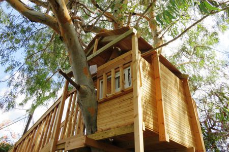 13 Amazing and DIY Able Tree Houses for Kids