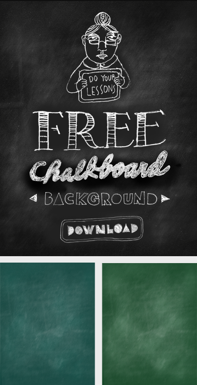Free Downloadable Chalkboard Backgrounds | Frames and banner for ...