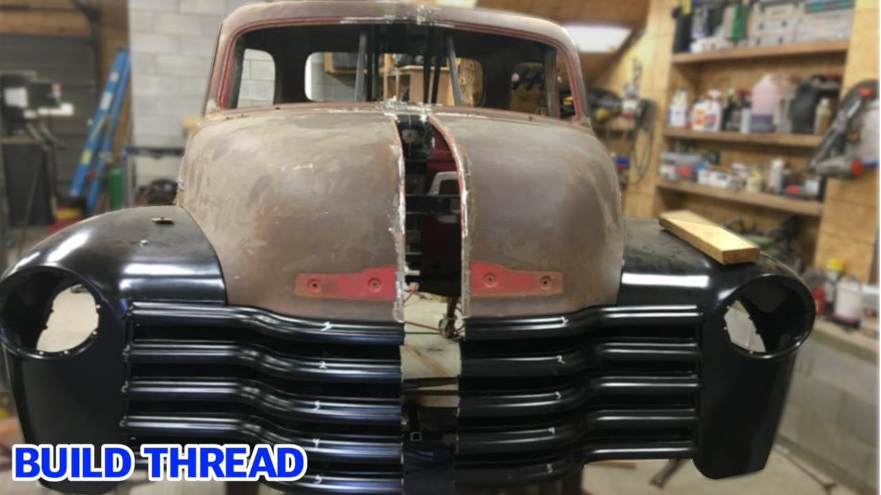 Fitting A 1947 54 Chevrolet Truck Body To An Ssr Chassis