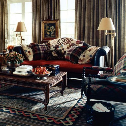 Home Decor: Five Fall Favorites  #1 Quilts. Man RoomRalph LaurenDream ...