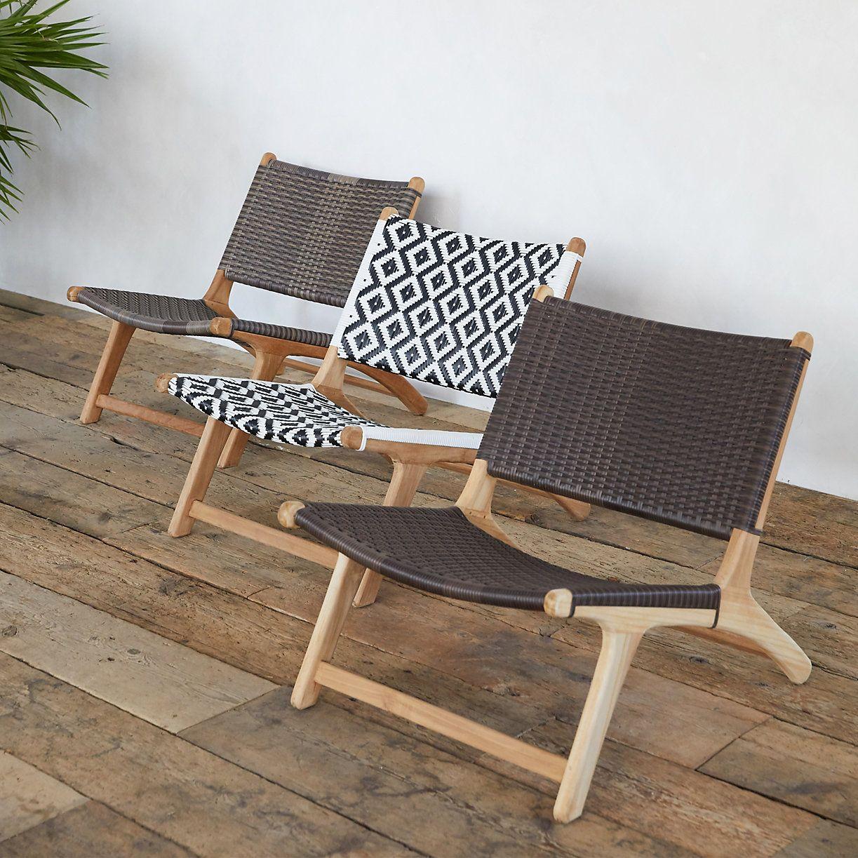 All Weather Wicker Teak Lounge Chair Terrain Teak Lounge Chair Outdoor Chairs Contemporary Lounge Chair