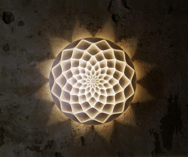 9 Groundbreaking Examples Of Generative Design Wall Lamp Design Lamp Design Unusual Lamps