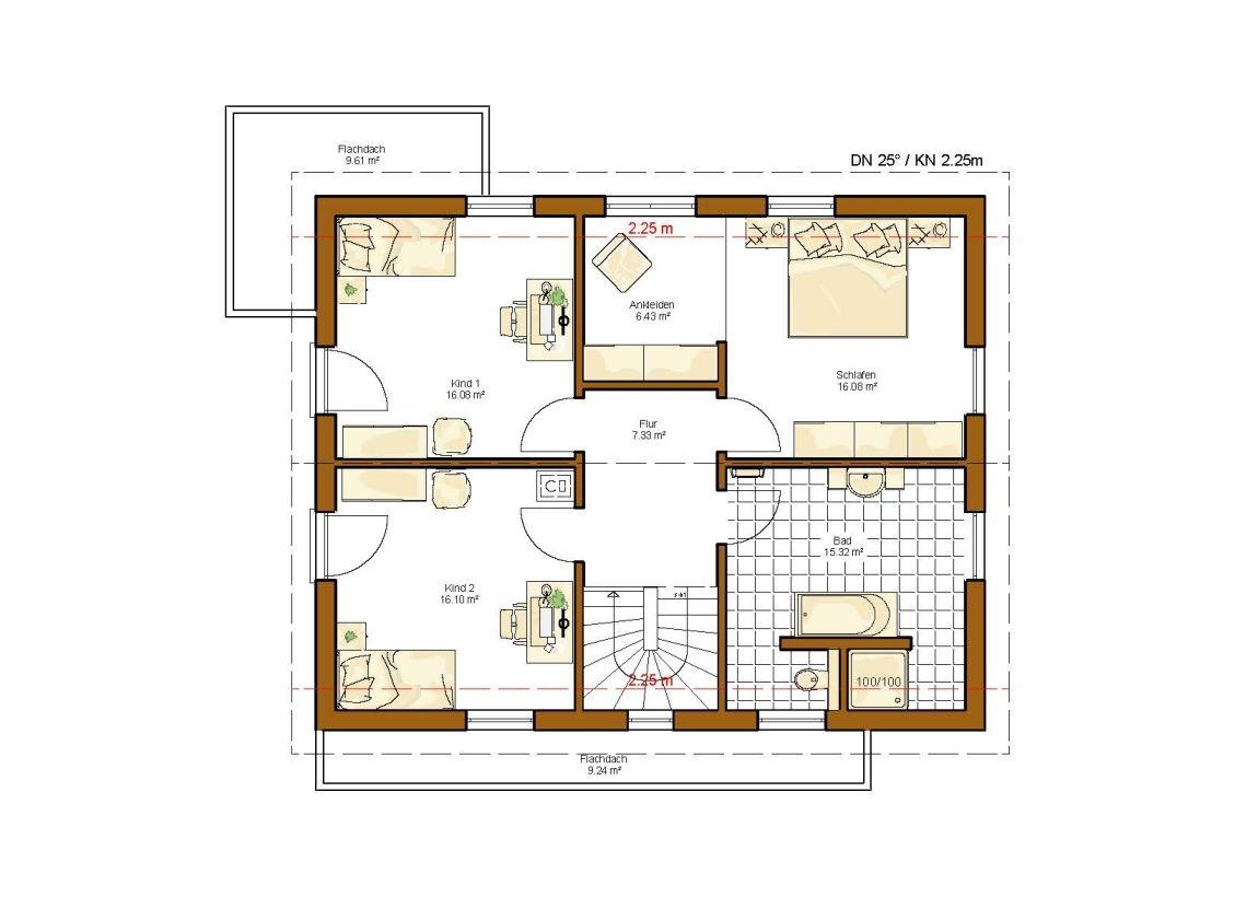 musterhaus göteborg grundriss dachgeschoss | grundrisse, wohnideen, Hause deko
