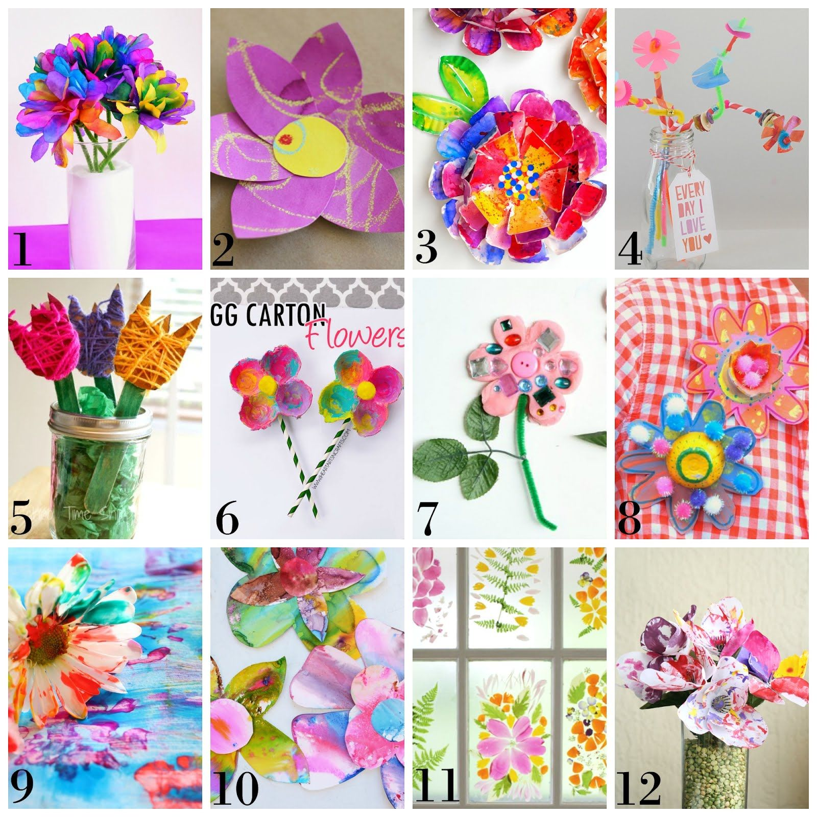Spring Arts Crafts And Worksheet