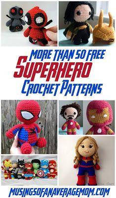 Free Superhero Crochet Patterns