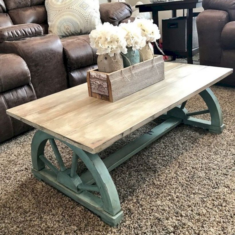 46 Fantastic Coffee Table Decor Ideas With Rustic Style Decorating Coffee Tables Simple Coffee Table Diy Coffee Table