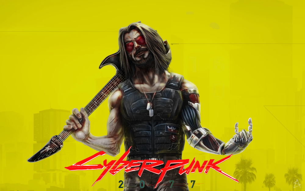 Artstation Johnny Silverhand Andre Simoes Cyberpunk 2077 Cyberpunk Cyberpunk Games