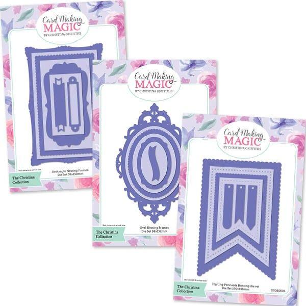 Card Making Magic Ideas Part - 30: Card Making Magic The Christina Collection - Die Bundle - CraftStash