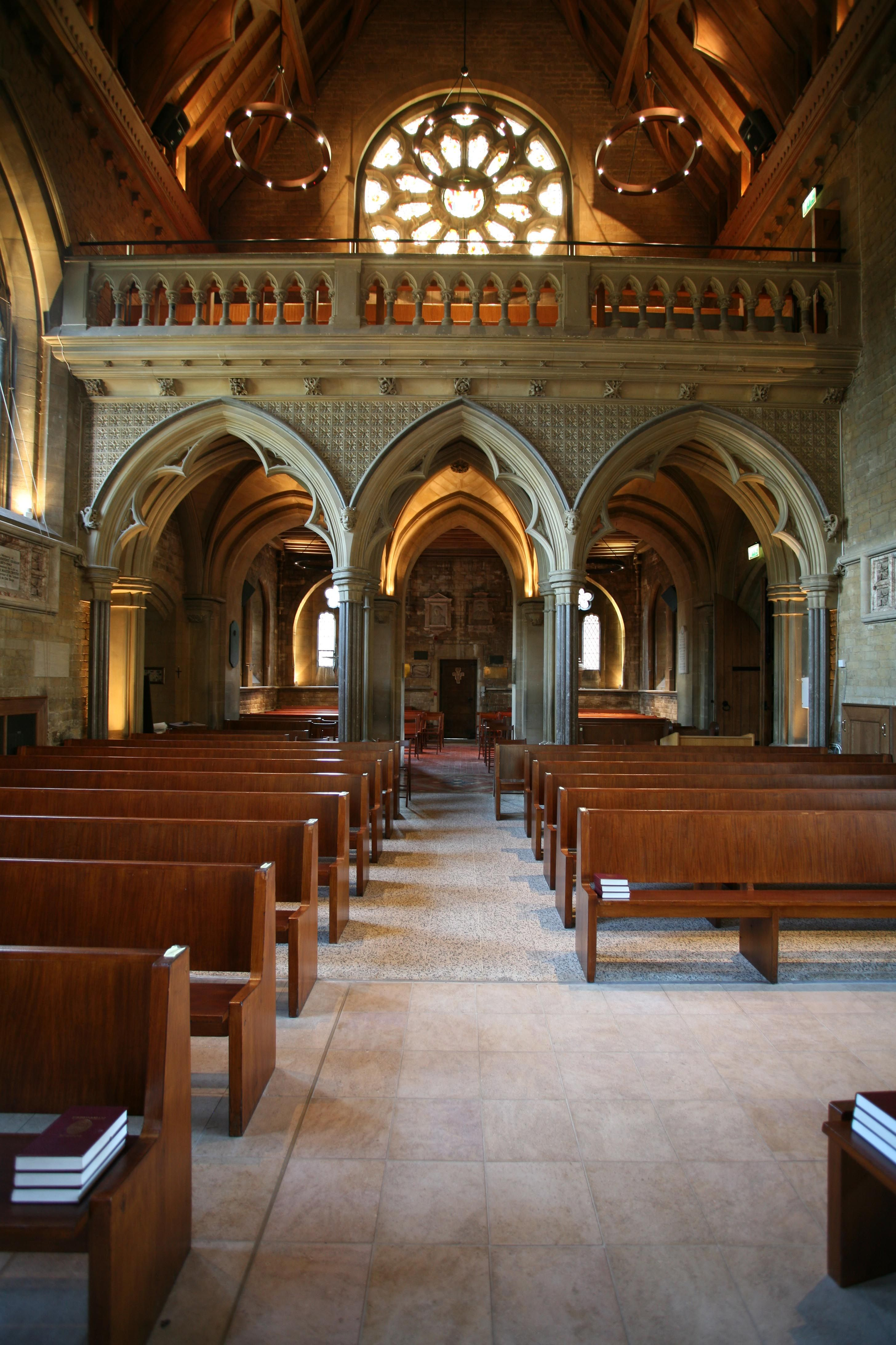 Uppingham School Chapel Leicestershire Dpa Lighting Consultants Right Light Right Place Right Time Uppingham Chapel School